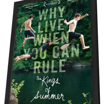 The Kings of Summer 27x40 Framed Movie Poster (2013)