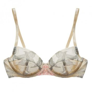 Buy Beautiful Bottoms luxury lingerie - Beautiful Bottoms Tropic Non Padded Comfort Bra with Lace  | Journelle Fine Lingerie