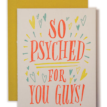 So Psyched card