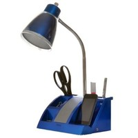 iHome iHL24-Blue Colortunes Desk Organizer Speaker Lamp with iPod Player Compartment, Blue:Amazon:Home Improvement