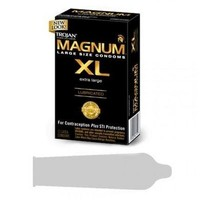 Bundle Trojan Magnum Xl 12 Pack and Aloe Cadabra Organic Lube Vanilla 2.5Oz