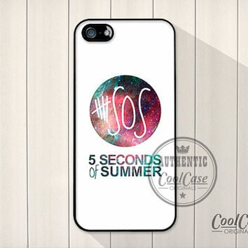 5SOS nebula space Pink&Green iPhone cover - iPhone 4/4s - iPhone 5 - iPhone 5s - iPhone 5c -5 seconds of summer stars universe iPhone case