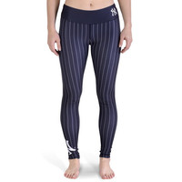 New York Yankees Pinstripe Official MLB Print Leggings