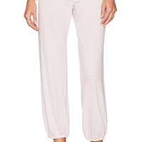 Nation LTD Medora Capri Sweatpant in Pink