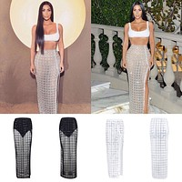 Kim Kardashian Fashion Skirt