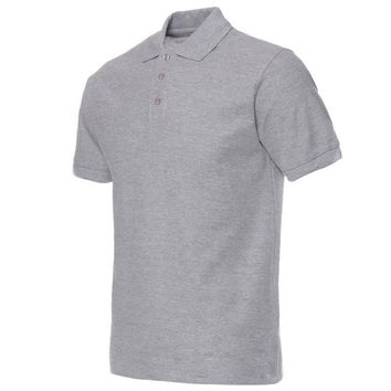 Camisa Polo Summer Men Short Sleeve Tops 14 Colors Solid Color Turn-down Collar Camisa Masculina Fashion Brand Clothing