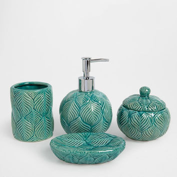 BLUE CERAMIC BATHROOM SET - Accessories - Bathroom | Zara Home United States