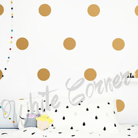 Large Polka Dot Wall Decals, Polka Dot Wall Decals - Polka Dot Set, Nursery Decals, Confetti Decals, Modern Wall Decals, Modern Decor ga3
