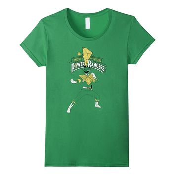 Power Rangers - Green Ranger Fighting Stance T-Shirt