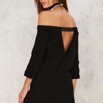 Nasty Gal One Thing Straight Mini Dress
