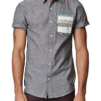 On The Byas Double Pocket Woven Shirt at PacSun.com