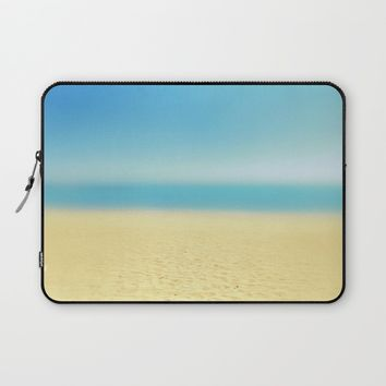 abstract prints on the sand Laptop Sleeve by ARTbyJWP