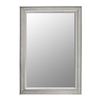 "SONGE Mirror - silver color - 35 7/8x51 1/8 "" - IKEA"