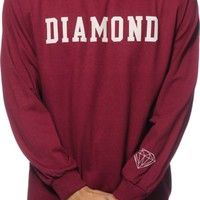 Diamond Supply Co Block Long Sleeve T-Shirt
