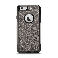 The Black Glitter Ultra Metallic Apple iPhone 6 Otterbox Commuter Case Skin Set