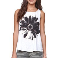 O'Neill Electric Daisy Tank - Womens Tee - White -