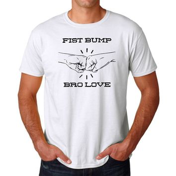 Fist Bump Bro Love T-shirt