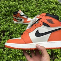 Nike Air Jordan 1 Retro High OG - Reverse Shattered Backboard  555088-113 DS