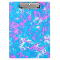 Clipboard Grunge Art Floral Abstract