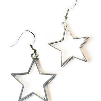 Star Power Cut-Out Earrings