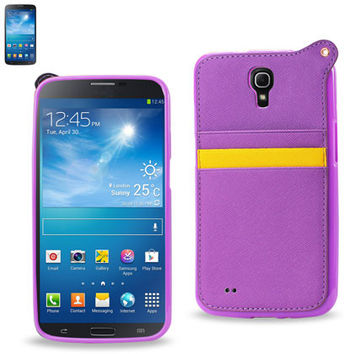 LEATHER Protector Cover Case SAMSUNG GALAXY MEGA 6.3