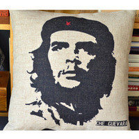 Che Guevara Decorative Pillow [084] : Cozyhere