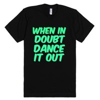 Just Dance!-Unisex Black T-Shirt