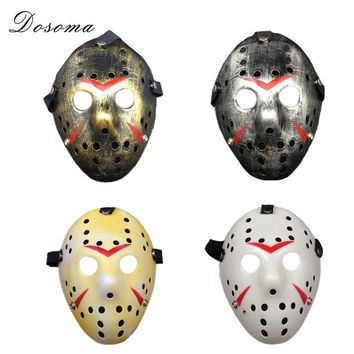 Cosplay Party Vintage Halloween Masks Jason Freddy