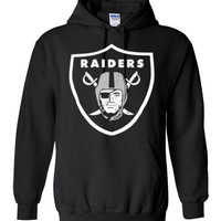 Raiders Shirt - Straight Outta Compton Gildan Heavy Blend Hoodie Shirt