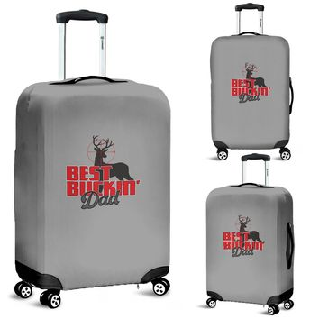 NP Best Buckin' Dad Luggage Cover