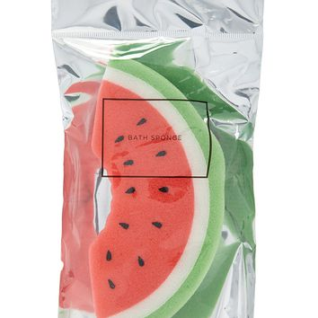 Watermelon Bath Sponge