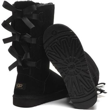 UGG Women male Fashion Wool Snow Boots I-7