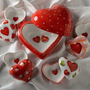 Amore Heart Box Set (set of 5)