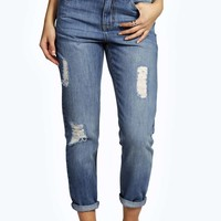 Jody Vintage Blue Mom Fit Jeans
