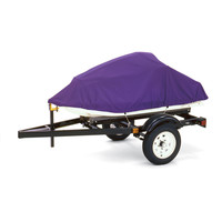 """Dallas Manufacturing Co. Polyester Personal Watercraft Cover E, Fits 3 Seater Model Up To 124"""" L x 49"""" W x 40"""" H"""