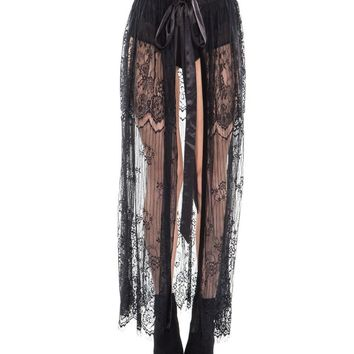 Queen of the Night Lace Skirt