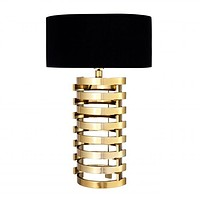 GOLD STACKED TABLE LAMP | EICHHOLTZ BOXTER - L