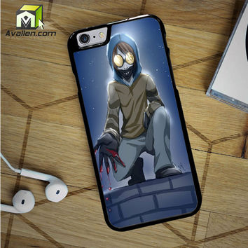 Creepypasta Ticci Toby iPhone 6S Case by Avallen