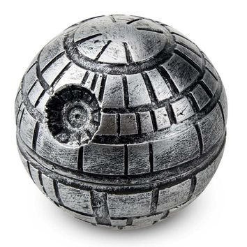 Star Wars Death Star Grinder Zinc alloy Herb Spice Crusher 3 Layers Grinder 50mm