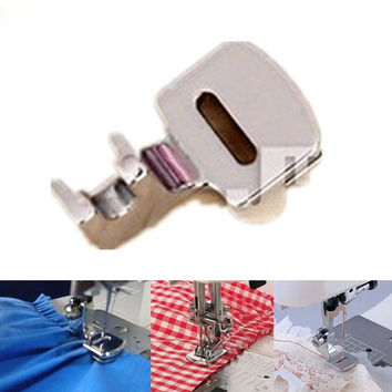 Ruffler Hem Presser Foot Feet For Sewing Machine Brother Singer Janome Kenmore Juki Toyota Home Supplies DIY