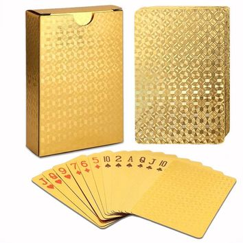 24K Gold Playing Cards Deck