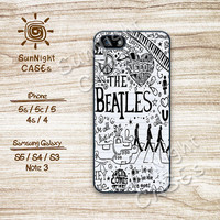 The Beatles, lyrics, Hippies, iPhone 5 case, iPhone 5C Case, iPhone 5S case, Phone case, iPhone 4 Case, iPhone 4S Case, Phone Skin, Btc02