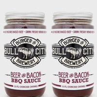 Beer & Bacon Barbecue Sauce, 2 Pack