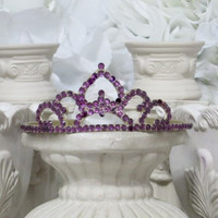 Princess Crown - Costume Accessories - Flower Girl Hair Accessorie - Princess Party - Toddler Gifts - Party Gifts - Bridal Shower Accessorie