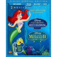 The Little Mermaid II: Return to the Sea/The Little Mermaid: Ariel's Beginning (3 Discs) (Blu-ray/DVD)