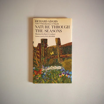 Vintage 70's Nature Book 'Nature Through the Seasons' Scientific Reference Text