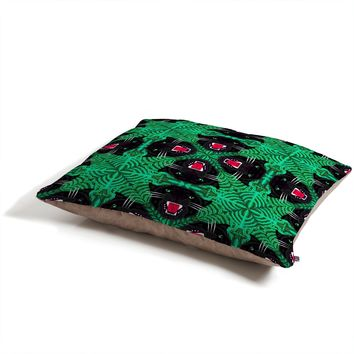 Chobopop Tropical Gothic Pattern Pet Bed