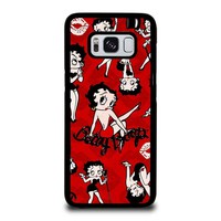 BETTY BOOP COLLAGE Samsung Galaxy S8 Case Cover