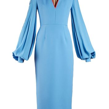 Essi balloon-sleeve crepe-satin dress | Roksanda | MATCHESFASHION.COM UK