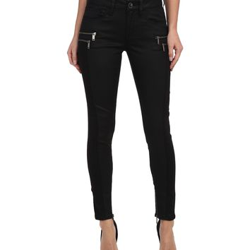 Mavi Jeans Lora Midrise Zip Detailed Skinny Ankle in Blocking Spectra Jeather